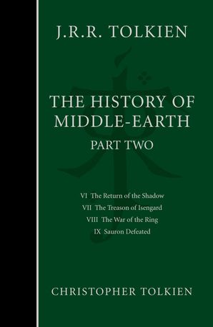 The History of Middle-earth Hardcover  by Christopher Tolkien
