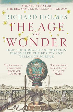 The Age of Wonder Paperback  by Prof. Richard Holmes, O.B.E.