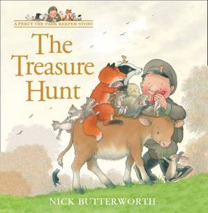 The Treasure Hunt (A Percy the Park Keeper Story) Paperback  by 872