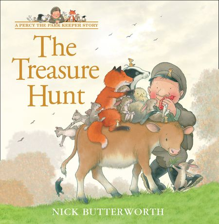 The Treasure Hunt (A Percy the Park Keeper Story) - Nick Butterworth, Illustrated by Nick Butterworth
