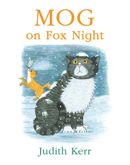 Mog on Fox Night - Judith Kerr, Illustrated by Judith Kerr