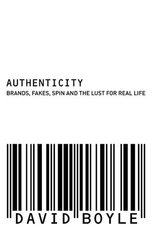 Authenticity Paperback  by David Boyle