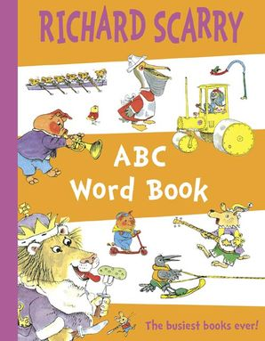 ABC Word Book Paperback  by Richard Scarry