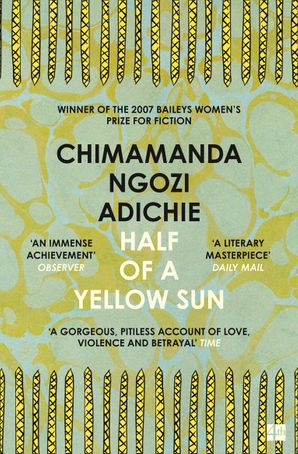Half of a Yellow Sun Paperback  by Chimamanda Ngozi Adichie