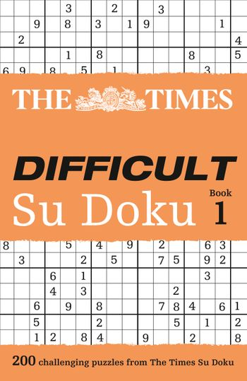 The Times Difficult Su Doku Book 1