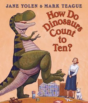 How Do Dinosaurs Count To Ten? Board book  by