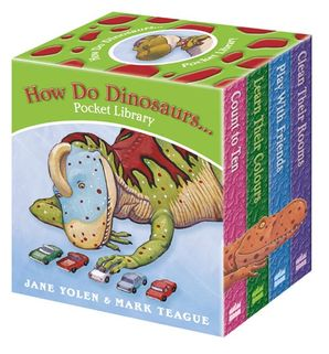 How Do Dinosaurs … Pocket Library Board book  by Jane Yolen