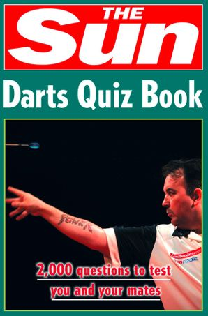 The Sun Darts Quiz Book Paperback  by Chris Bradshaw