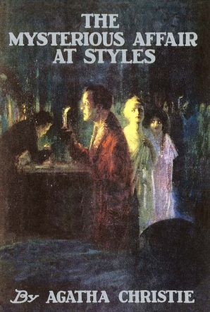 The Mysterious Affair at Styles Hardcover Facsimile edition by Agatha Christie