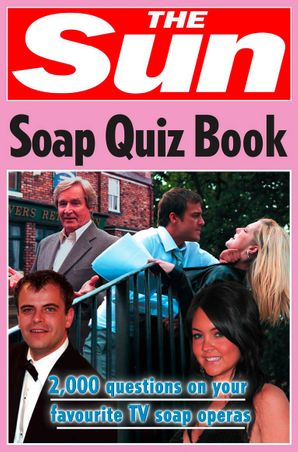 The Sun Soap Quiz Book Paperback  by Chris Bradshaw