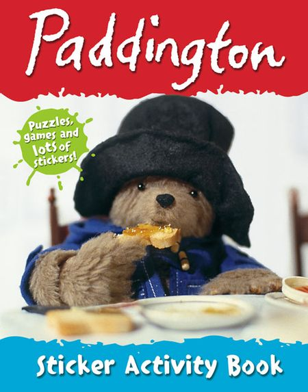 Paddington Sticker Activity Book - Michael Bond