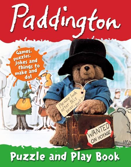 Paddington Puzzle and Play Book - Michael Bond