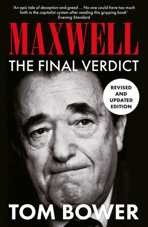 Maxwell Paperback  by Tom Bower