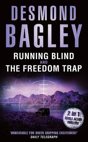 Running Blind / The Freedom Trap Paperback  by