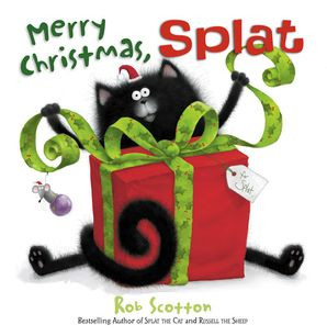 Merry Christmas, Splat Paperback  by Rob Scotton