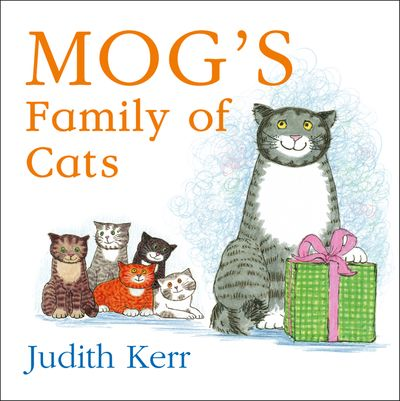 Mog's Family of Cats board book - Judith Kerr, Illustrated by Judith Kerr