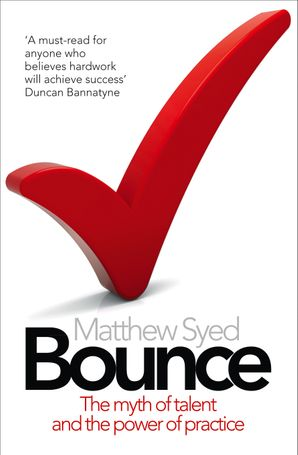 Bounce Paperback  by Matthew Syed