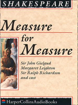 Measure for Measure Download Audio Unabridged edition by