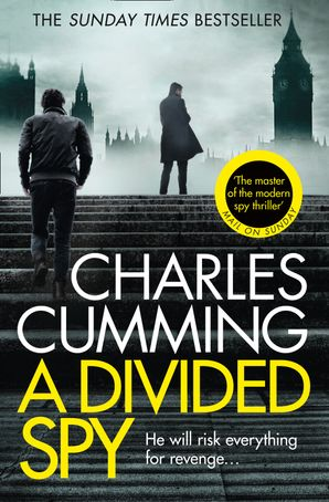 A Divided Spy Paperback  by Charles Cumming