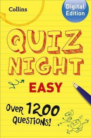Collins Quiz Night (Easy) eBook  by No Author