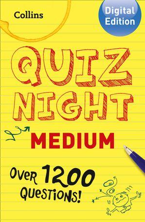 Collins Quiz Night (Medium) eBook  by