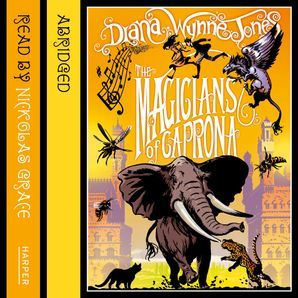 The Magicians of Caprona Download Audio Abridged edition by Diana Wynne Jones