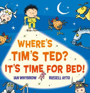 Where's Tim's Ted? It's Time for Bed! Paperback  by Ian Whybrow