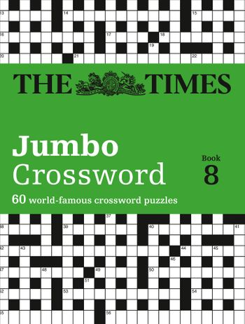The Times 2 Jumbo Crossword Book 8