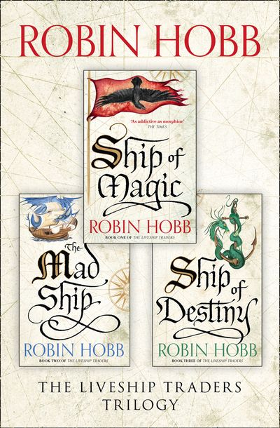 The Complete Liveship Traders Trilogy - Robin Hobb