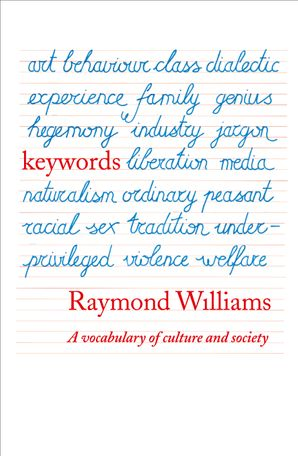 Keywords: A Vocabulary of Culture and Society eBook  by