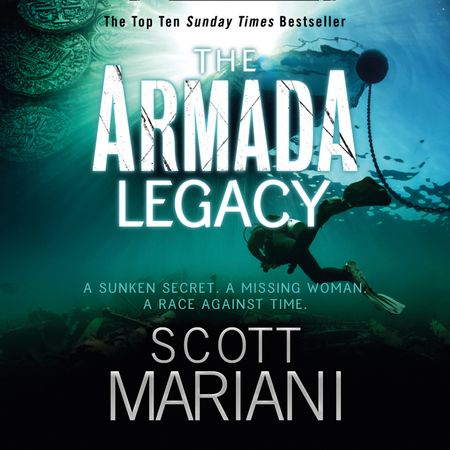 The Armada Legacy - Scott Mariani, Read by Jack Hawkins
