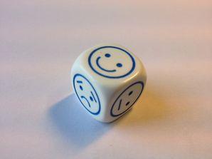 Dice - Mood (Mini Flashcards Language Games)
