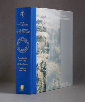 The Lord of the Rings Hardcover Illustrated Slipcased edition by J. R. R. Tolkien