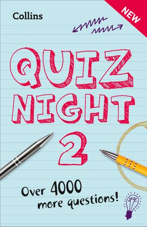 Collins Quiz Night 2 Paperback  by No Author