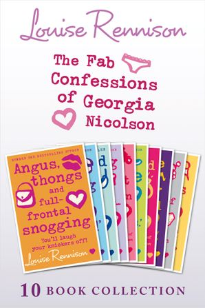 The Complete Fab Confessions of Georgia Nicolson: Books 1-10 (The Fab Confessions of Georgia Nicolson)