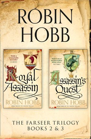 The Farseer Series Books 2 and 3 by Robin Hobb - eBook