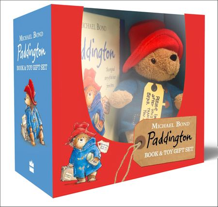 Paddington Book and Toy Gift Set - Michael Bond, Illustrated by R. W. Alley