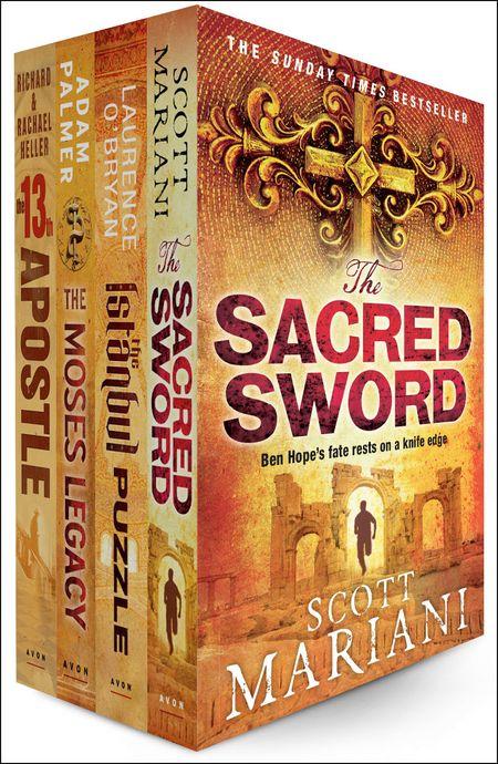 Conspiracy Thriller 4 E-Book Bundle - Scott Mariani, O'Bryan, Adam Palmer and Richard Heller