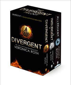 Divergent Trilogy boxed Set (books 1-3) Paperback  by Veronica Roth