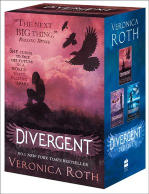 Divergent Series Boxed Set (books 1-3) Paperback  by