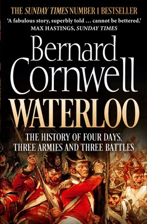 Waterloo Paperback  by Bernard Cornwell