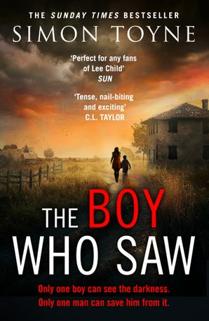The Boy Who Saw Paperback  by Simon Toyne