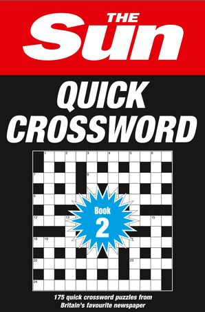 The Sun Quick Crossword Book 2 Paperback  by No Author