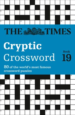 The Times Cryptic Crossword Book 19 Paperback  by Richard Browne