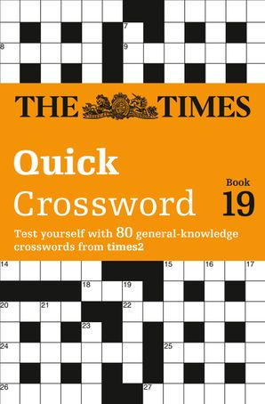 The Times Quick Crossword Book 19 Paperback  by John Grimshaw