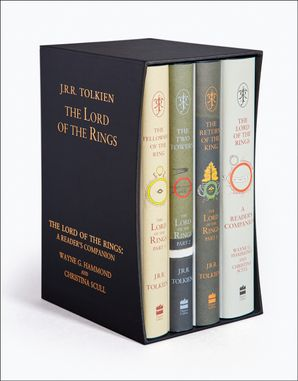 The Lord of the Rings Boxed Set Hardcover 60th Anniversary edition by J. R. R. Tolkien