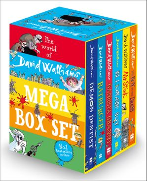 The World of David Walliams: Mega Box set Paperback  by