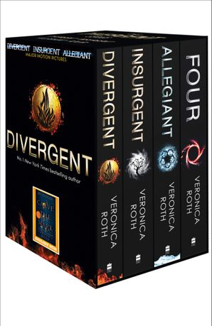 Divergent Series Box Set (books 1-4 plus World of Divergent) Paperback  by Veronica Roth