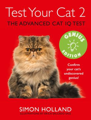 Test Your Cat 2: Genius Edition Paperback  by Simon Holland