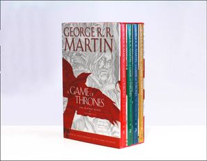 A Game of Thrones: The Graphic Novels Volumes 1–4  Boxed Set edition by George R. R. Martin